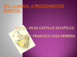 Profra. Hilda castillo zacatelco. Alumno: Francisco Sosa
