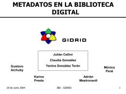 JBD - GIDRID