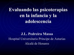 Evaluando las psicoterapias en la infancia y la adolescencia