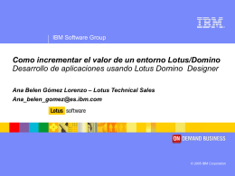 IBM Lotus Domino Designer7