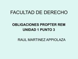 FACULTAD DE DERECHO - Estudio de Abogados Parellada
