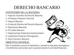 DERECHO BANCARIO - Blog del Profesor Pablo Emilio …