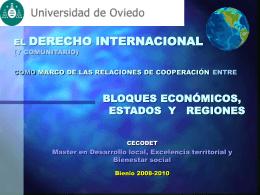 DERECHO DEL MAR - Universidad de Oviedo