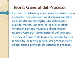Derecho procesal.-