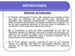 SEMINARIO DE DERECHO INTERNACIONAL …
