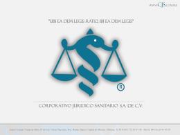 FUENTES DEL DERECHO - Corporativo Juridico Sanitario