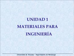 Diapositiva 1 - METALURGIA-UDA