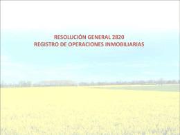 NUEVO REGIMEN DE INFORMACION SOBRE EXISTENCIAS …