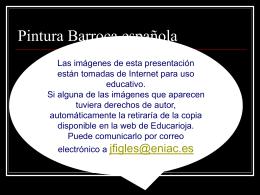 Pintura Barroca - Gobierno de La Rioja