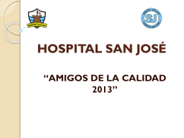 HOSPITAL SAN JOS&#201