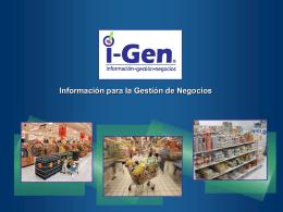 Diapositiva 1 - I-Gen