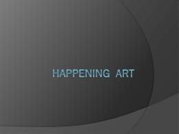 Happening art