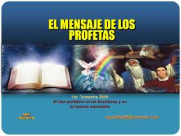 Diapositiva 1 - IGLESIA ADVENTISTA DISTRITO 30 DE MAYO