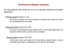El Cid entra en Burgos