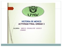 Historia de Mexico - UPAV | Universidad Popular …