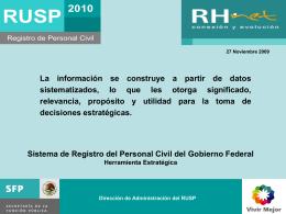 Sistema de Registro del Personal Civil del Gobierno