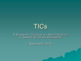 Beneficios de Tics e-gobierno