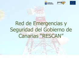 Red de Emergencias y Seguridad del Gobierno de …