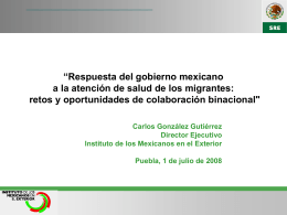 Jornadas Informativas IME