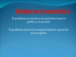 Gobierno Competitivo