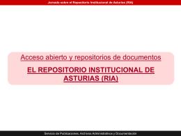 presentacion RIA - Gobierno del principado de Asturias