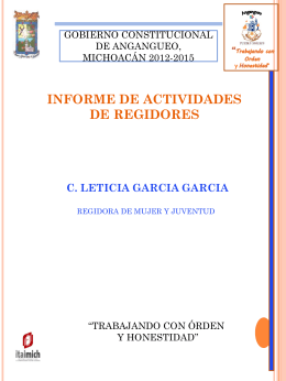 Diapositiva 1 - Portal de los Municipios