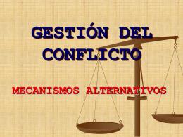 GESTION DEL CONFLICTO