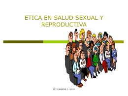 ETICA EN SALUD SEXUAL Y REPRODUCTIVA