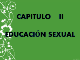 CAPITULO 2 SEXUALIDAD.