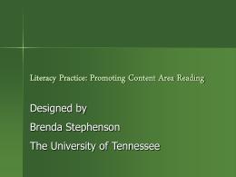 Literacy Practice Powerpoint
