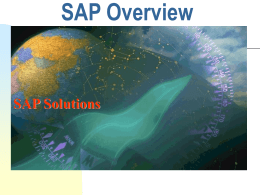 SAP Overview - Welcome | Qlik Community
