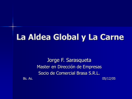 La Aldea Global y La Carne