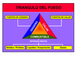 TEORIA DEL FUEGO - De Prevencion, Salud Ocupacional