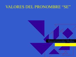 VALORES DE 'SE'