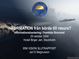 IRM Vision Person Information