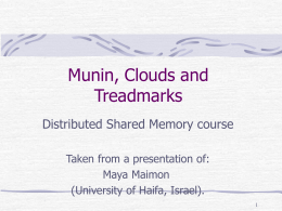Munin, Clouds and ThreadMark