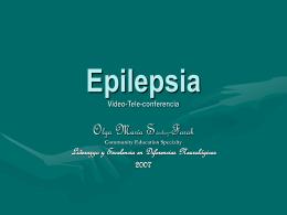Epilepsia Video-Teleconferencia