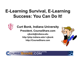 E-learning survival, e-learning success