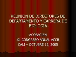 REUNION DE DIRECTORES DE DEPARTAMENTO Y …