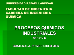 UNIVERSIDAD RAFAEL LANDIVAR FACULTAD DE …
