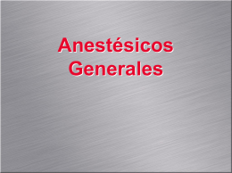 General Anesthesiology - med09ucsc | Just another