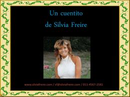 Diapositiva 1 - Silvia Freire