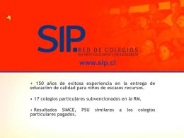 SIP. RED DE COLEGIOS