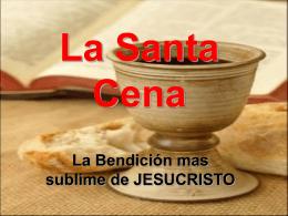 La Santa Cena