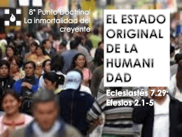 El estado original de la humanidad