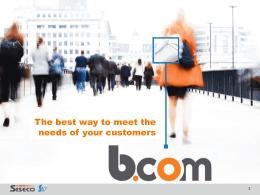 BCOM - Soluzioni CRM | Servizi Voip