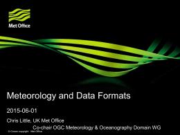 Title XXXXXXXX - Open Geospatial Consortium