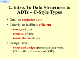 02. Data Structures and ADTs