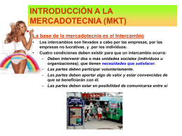 Diapositiva 1 - MERCADOTECNIA LA