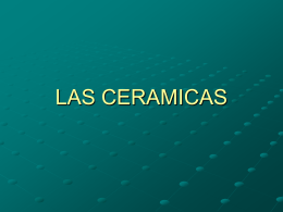 LAS CERAMICAS - Universidad de Alicante